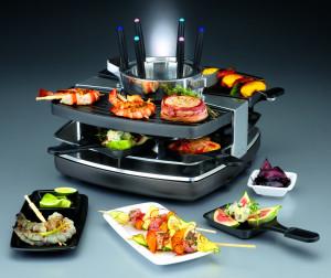GASTROBACK Design Raclette-Fondü szett